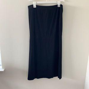 Casual corner annex black long skirt